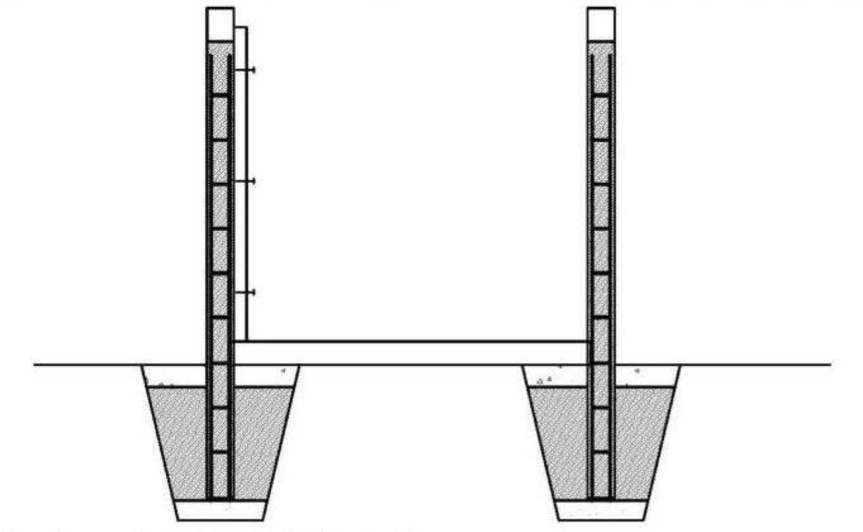 segmenty ogrodzeniowe