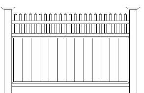 castorama ogrodzenia